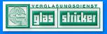 Logo Verglasungsdienst Glas Stricker aus Dinslaken