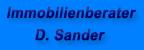 Kundenlogo Immobilienberater D. Sander aus Duisburg