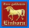 Logo Zum goldenen Einhorn