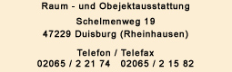 Raumausstatter Duisburg raumausstatter duisburg restaurierungen gardinen teppiche