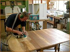 Tisch Abschleifen schreinerei meerbusch bödefeld küchenbau möbel tischlerei